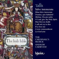 Salve intemerata by Tallis ;   The Cardinall's Musick ,   Andrew Carwood