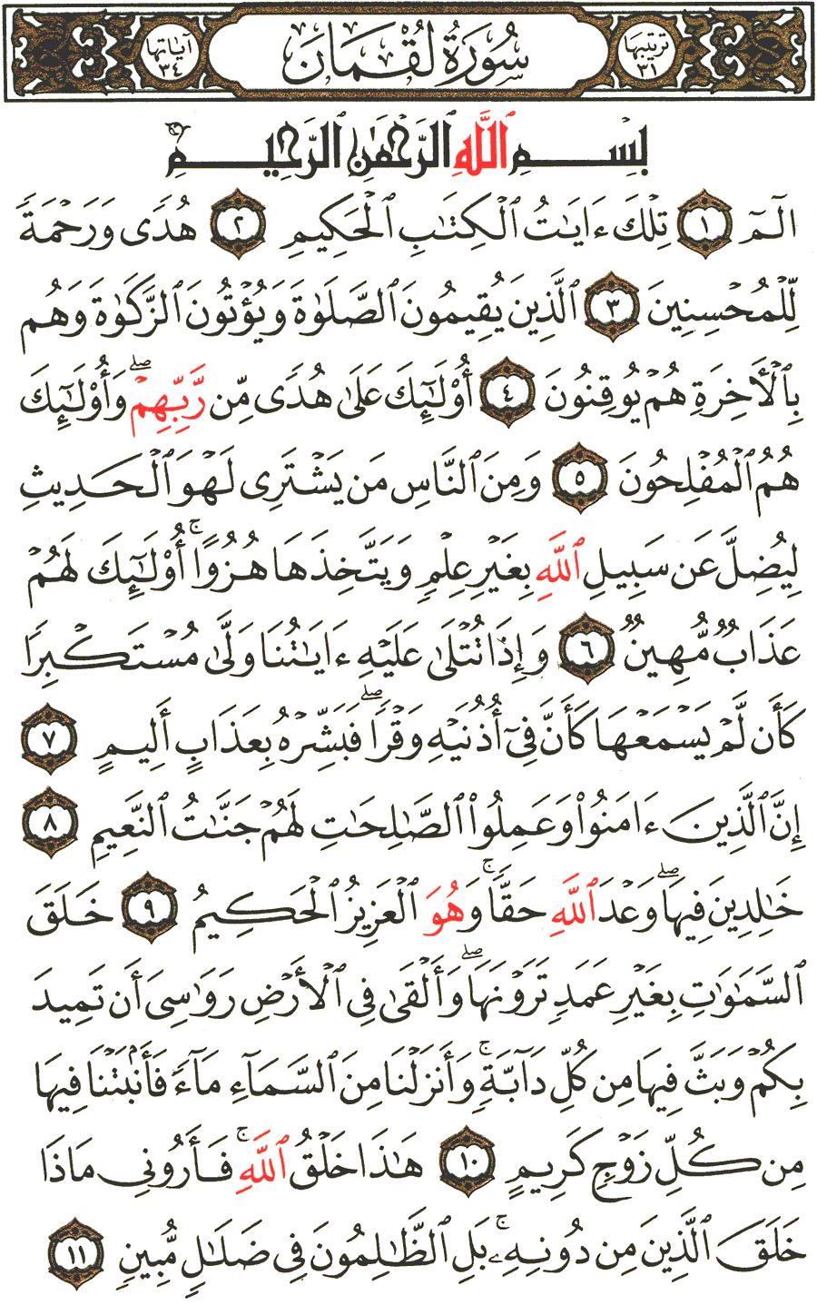 الصفحة رقم 411 من القرآن الكريم مكتوبة من المصحف