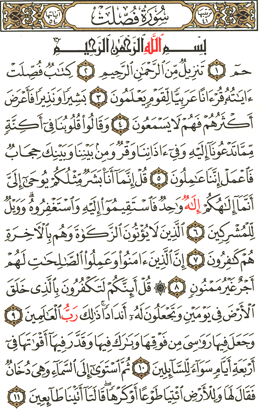 Page No 477  The Noble Quran