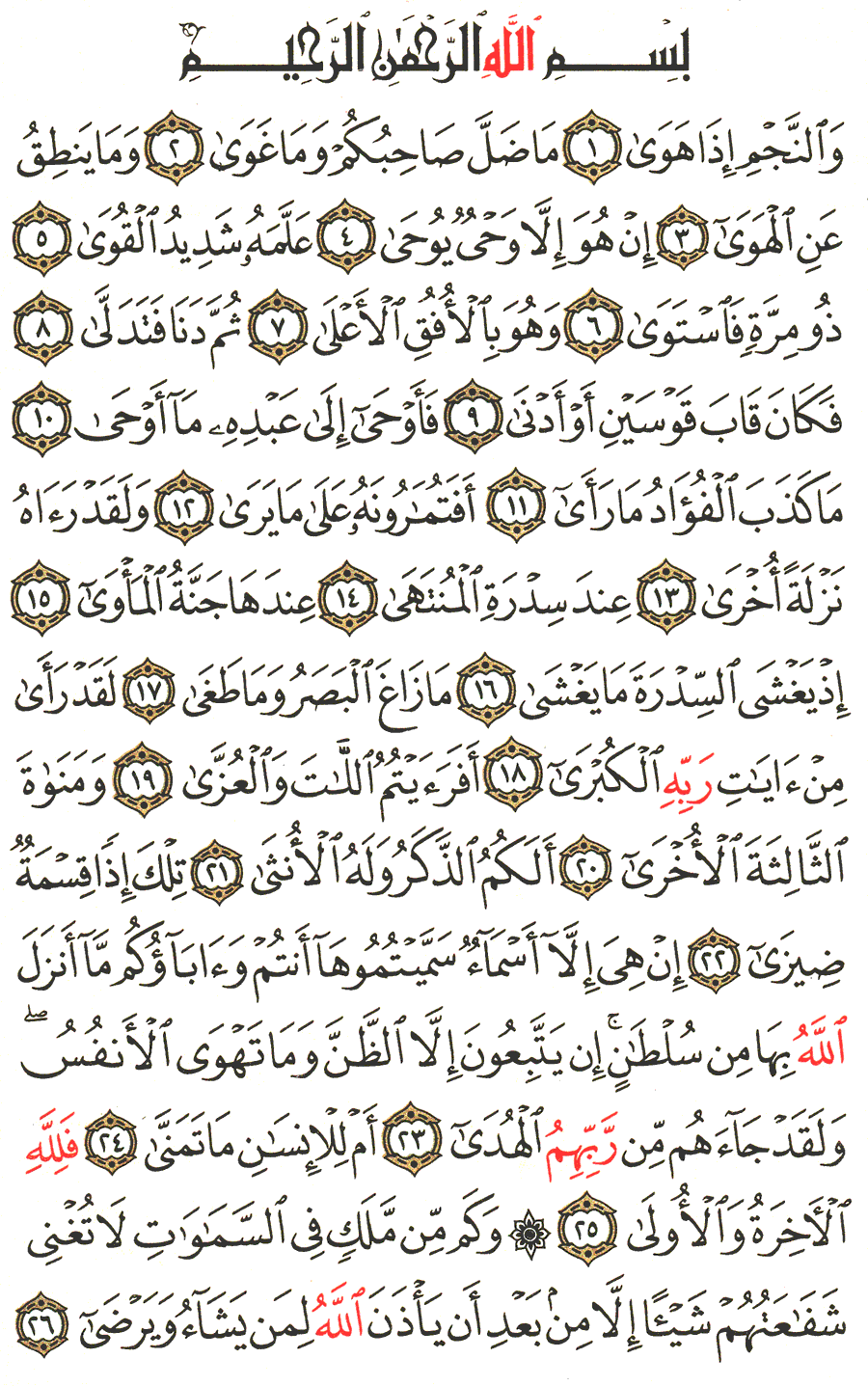 Page No 526  The Noble Quran