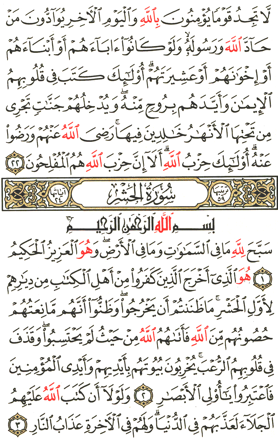 Page No 545  The Noble Quran