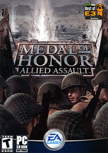 Medal Of Honor Allied Assault Pc 2002 Cd 1 Windows 95 Xp Ak Pc Cd Rom Games Free Download Borrow And Streaming Internet Archive