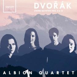 String Quartets nos. 8 & 10 by Dvořák ;   Albion Quartet