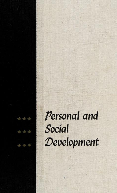 Personal and social development by Louis Samuel Levine