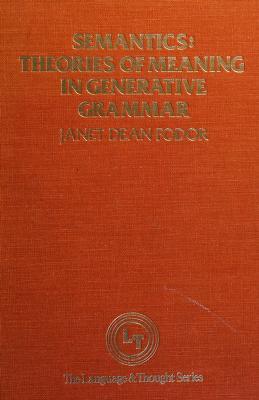 Cover of: Semantics | Janet Dean Fodor